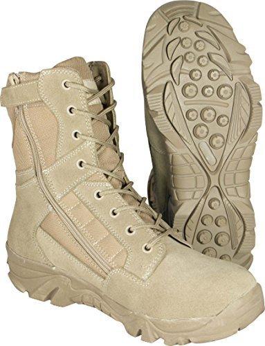 Mil-Com Recon Boots, Bottes pour Homme Beige - Sable