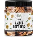 GreenFinity Premium Afghani Anjeer - 250g   Dried Figs   Jar Pack.