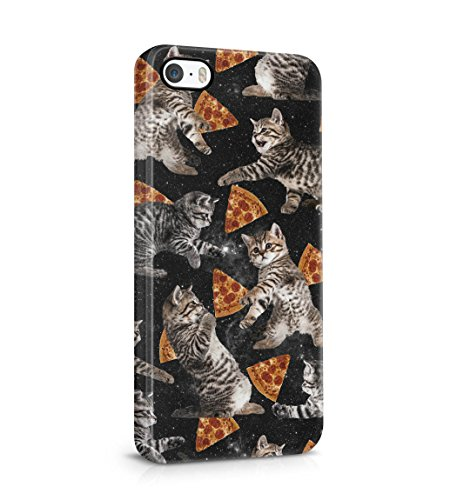 cute-kitten-pizza-slices-pattern-space-stars-snap-on-back-plastic-phone-cover-shell-for-apple-iphone
