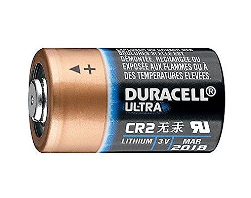 Duracell CR17355 Ultra Lithium Batterie CR 2 (10-er Pack) schwarz/Kupfer