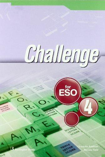 Challenge. Student's Book. 4º ESO