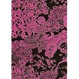 Decopatch–c728o Papel, 395x 298mm, 3unidades), color Pink Schwarz Spitze