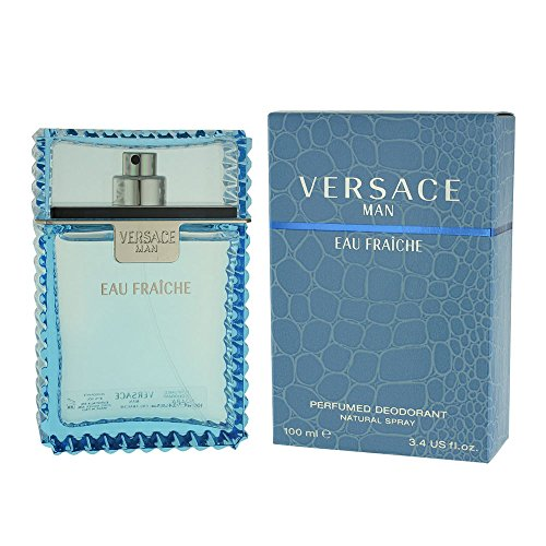 Versace Man Eau Fraiche By Gianni Versace For Men Deodorant Spray 3.4 Oz