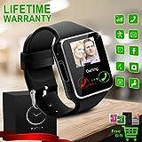 Montre Connectée, Bluetooth Smart Watch Etanche Montre Intelligente avec Caméra...