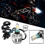 Motorrad Scheinwerferlampe LED Abblend-