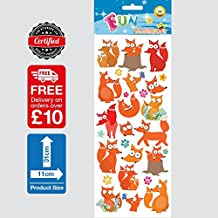 Fun Stickers Fox Family 987 by Funstickers