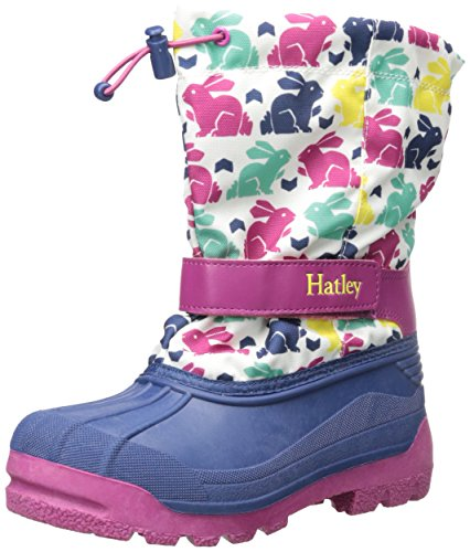 Hatley  Nordic Bunnies Winter Boots, Bottes fille Blanc (Blanc)