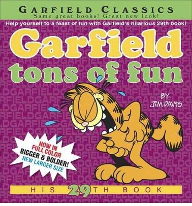 By Jim Davis ( Author ) [ Garfield Tons of Fun Garfield By Mar-2015 Paperback