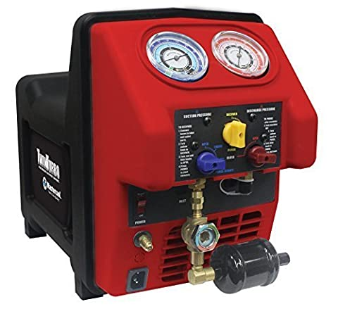 Dual Voltage Refrigerant Recovery Machine - MASTERCOOL