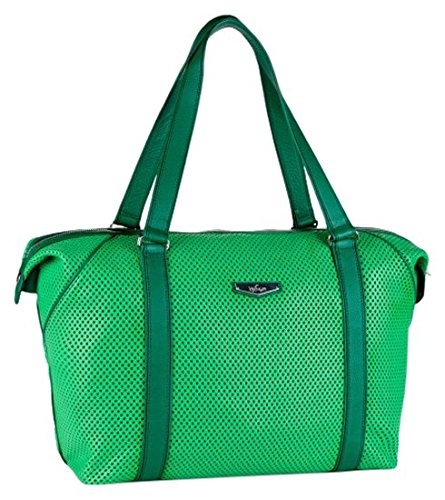 Kipling Art M KP Bolsa de Viaje, 26 Litros, Color Verde (Hot Green Perfo)