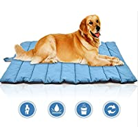 SMACO Alfombra Impermeable para Mascotas Alfombra Impermeable para Perros Resistente A Los Mordiscos Exterior Fácil De