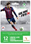 Xbox Live Gold 12-Month Membership Ca...
