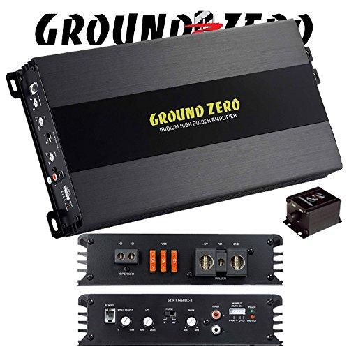 Ground Zero GZIA 1.1450dx II 1 canaux Amplificateur mono