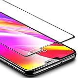ESR Verre trempé pour LG G7 ThinQ Couverture Complète (Noir),LG G7 Protection Ecran Film en Verre Trempé, Protecteur d'écran Ultra Résistant Indice Dureté 9H pour LG G7 ThinQ 6,1 Pouces Sortie en 2018