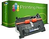 Printing Pleasure Compatible CF281A 81A Cartouche de Toner pour HP Laserjet Enterprise MFP M630dn M630f M630h M630z M604dn M604n M605dn M605n M605x M606dn M606x - Noir, Grande Capacité (10.500 Pages)