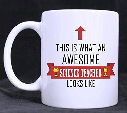 Dies ist, was EIN Awesome Science Teacher Looks Like–Tee/Kaffee Tasse/Cup –-Design–tolle Geschenkidee