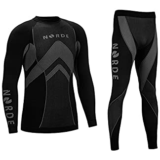 THERMOTECH NORDE Functional Thermal Underwear Breathable Active Base Layer SET 13
