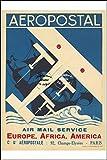 Herbé ™ Aviation : AéROPOSTAL Rf13 - Poster/Reproduction 30x42cm d'1 Affiche Ancienne...