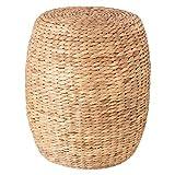 """Tavolino """"Seagrass"""" in aspetto corda e in colore naturale, stile nomade"""