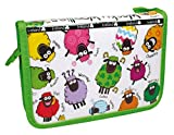 Wacky Woollies Pencil Case - Stationery Included
