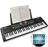 WOSTOO Clavier électronique de Piano 61, Clavier de Piano Portable avec...