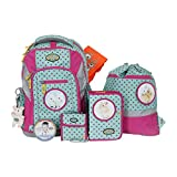 School-Mood Schulranzen-Set 7-tlg Loop Hase 95705 pink dots