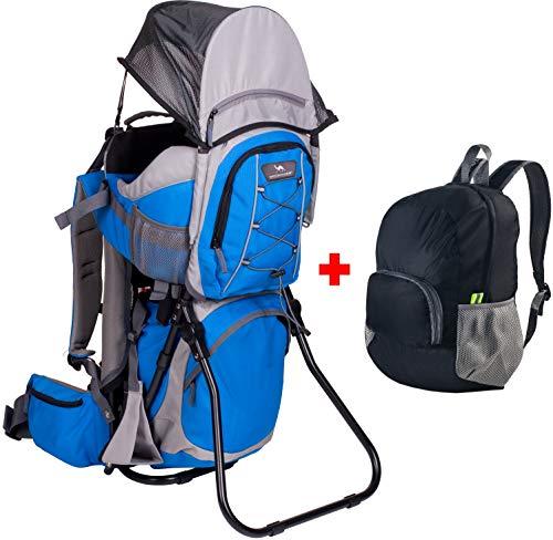 Ultrapower Kindertrage | Wandern | Reise | Tragerucksack | Kinderkraxe | Babytragerucksack | Rückentrage | Baby-Carrier | Kangoo Comfort