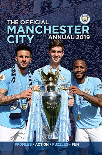 Official Manchester City FC Annual 2019 por David Clayton