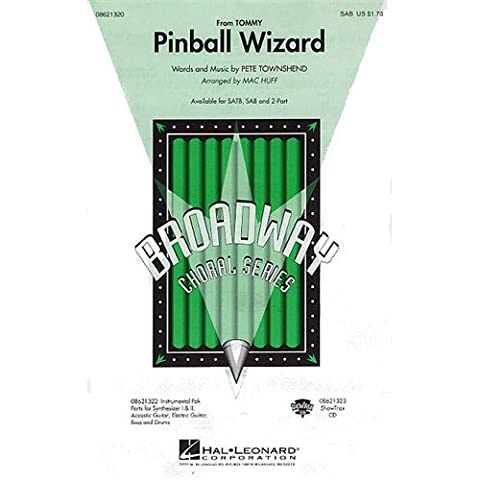 Pinball Wizard - SAB - CHORAL SCORE