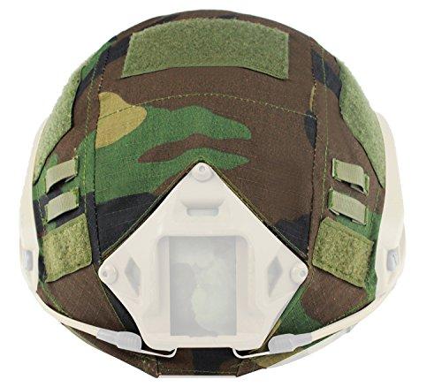 Casco para Paintball gamuza Wargame ejército Airsoft táctico militar camuflaje funda para...