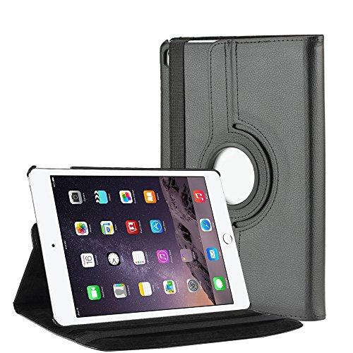 Preisvergleich Produktbild SELECTEC iPad Pro Hülle iPad Pro 9.7 Zoll Hülle Schutzhülle Tasche für Apple iPad Pro 9.7 Zoll 360 Grad drehbar-Schwarz