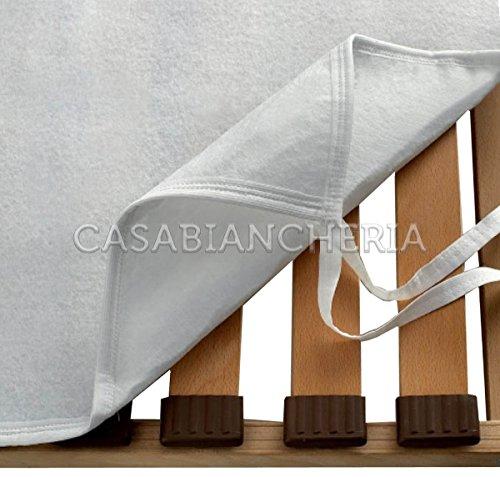 Casabiancheria coprirete salva materasso in feltro nuvola-piazza e mezzo