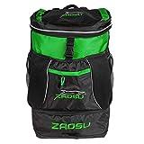 Image of ZAOSU Triathlon- & Schwimm-Rucksack - Transition Bag | 45 Liter mit Nassfach für Schwimmbekleidung nach dem Wettkampf oder Training, Farbe:grün
