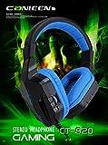 MLL Cross-Border Jiahe CT-820 knacken Leucht Headset Headset Bass-Spiel Ebay,Schwarz,A