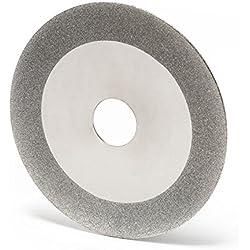 WilTec Meule Diamant 100mm/20mm pour Lames Acier de scie Circulaire