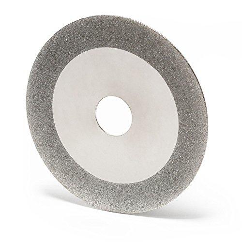 Disco de esmerilado de diamante de 105 mm para afilador de hojas de sierra circular en forma de cuña