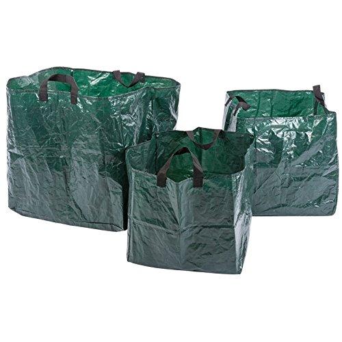 Draper 83987 Sac pour déchets de jardin – Vert (Lot de 3)
