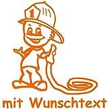 Babyaufkleber mit Name/Wunschtext - Motiv 395 (16 cm) - 20 Farben und 11 Schriftarten wählbar