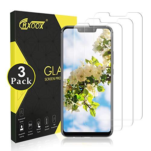 CRXOOX 3 Stück Panzerglasfolie für Huawei Mate 20 Lite 9H Panzerglas Schutzfolie Anti Kratzen Ohne Bläschen Bildschirmschutzfolie Blasenfrei Einfache Montage für Huawei Mate 20 Lite Transparent