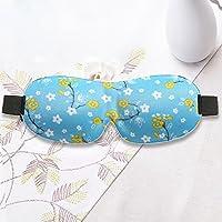 Sonnenschutz Augenmaske Augenabdeckung 3D Contour Eye Cover Schlaf Augenmaske für Männer und Frauen, Blume 2ST preisvergleich bei billige-tabletten.eu