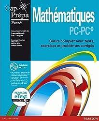 Mathématiques PC-PC* : Cours complet avec tests, exercices et problèmes corrigés + eText + DVD-ROM