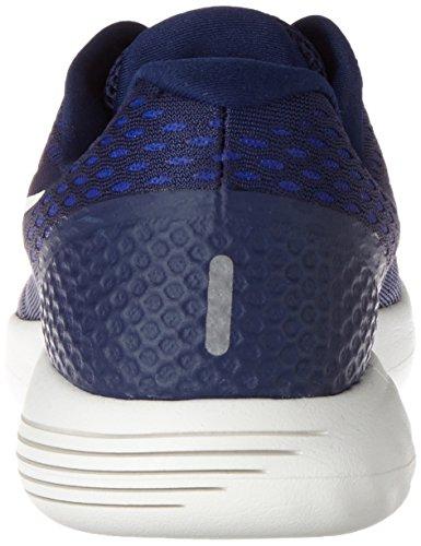 Nike Lunarglide 8, Scarpe Running Uomo Blu (Binary Blue/Summit White/Black/Paramount Blue)