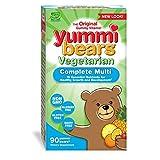 Best Gummy Multi Vitamin For Kids - Yummi Bears Vegetarian Multi-Vitamin & Mineral Gummy Vitamin Review