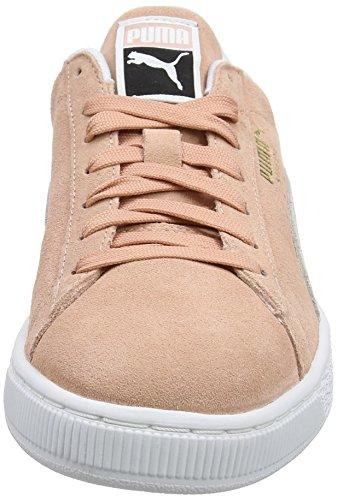 Puma Unisex Suede Classic Sneaker Beige (Muted Clay-Puma White)