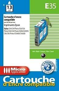 Micro application Cartouche d'encre E35 Noir T0441