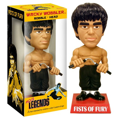 Funko - Movie Legends Bobble Head Bruce Lee (Fists of Fury) 18 cm