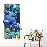 Amlaiworld 3D Stickers Muraux DIY Peinture Murale PVC Stickers d'art Décoration d'intérieur pour Salon Chambre Couloir Papier Peint Multicolore, 60x 30cm