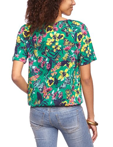 LERROS - T-Shirt - Manches Courtes Femme Vert - Grün (EXOTIC GREEN 631)