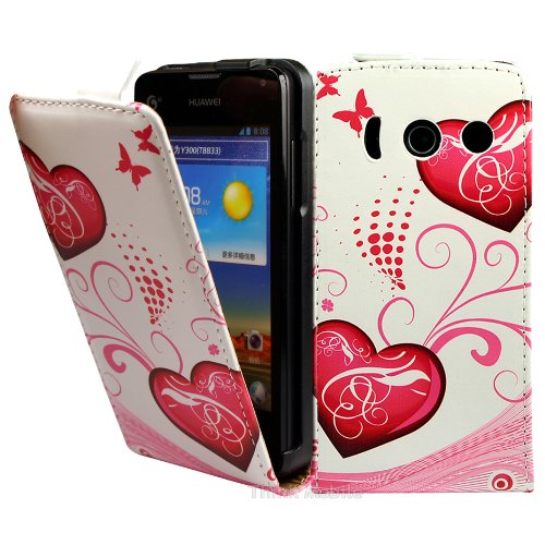 huawei-ascend-y300-case-thinkmobile-white-hearts-pu-leather-flip-case-cover-for-huawei-ascend-y300