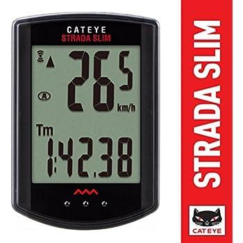 Cateye CTRD310W - Computadora Rd310 Strada Slim Negra